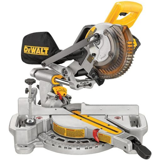 DEWALT 20-Volt MAX Lithium-Ion Cordless 7-1/4 in. Miter Saw with Battery 4Ah and Charger