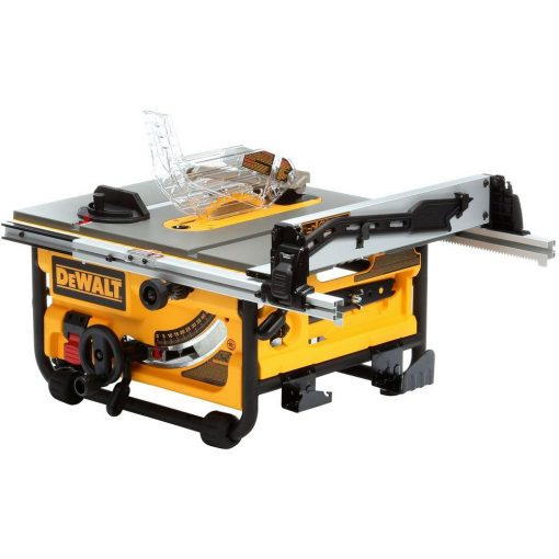 DEWALT 15 Amp 10 in. Compact Job Site Table Saw with Site-Pro Modular Guarding System
