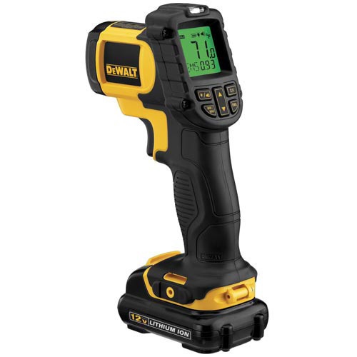 Dewalt DCT414S1 12V MAX Cordless Lithium-Ion Infrared Thermometer Kit