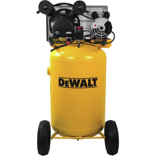 Dewalt DXCMLA1683066 120V/240V 1.6 RHP 30 Gallon V-Twin Vertical Air Compressor