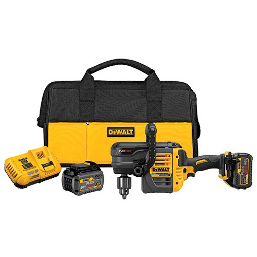 Factory Reconditioned Dewalt DCD460T2R 60V MAX Cordless Lithium-Ion VSR Stud and Joist Drill Kit with (2) Batteries