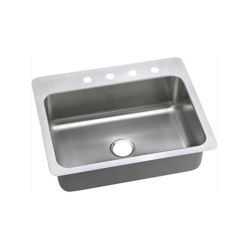 Elkay DSESR127223 Dayton Elite Universal Mount 27 in. x 22 in. Single Basin Kitchen Sink (Steel)