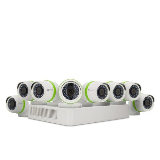 EZVIZ Security Cameras 16-Channel 1080 TVL 2TB and Up HDD Surveillance Systems Night Vision Works with Alexa using IFTTT