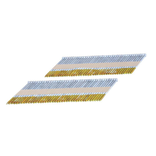 Freeman FR.131-34-3HDGRS Freeman 3 in. 34 Degree Clipped Head Paper Tape Collated Hot Dipped Galvanized Ring Shank Framing Nails