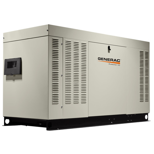 Generac RG03224ANAX Protector QS 120/240V 2.4L 32 kW Single Phase Liquid-Cooled Aluminum Automatic Standby Generator (LP/NG)