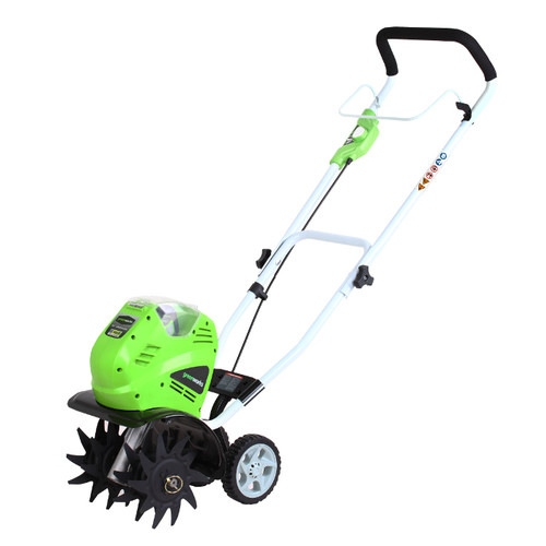 Greenworks 27062A 40V G-MAX Cordless Lithium-Ion 10 in. Cultivator (Bare Tool)