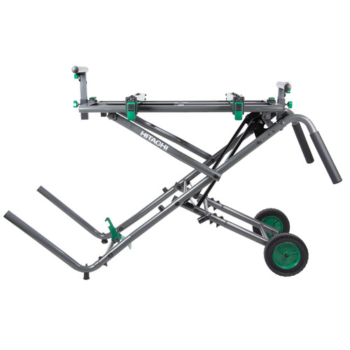 Hitachi UU240R Fold and Roll Portable Miter Saw Stand