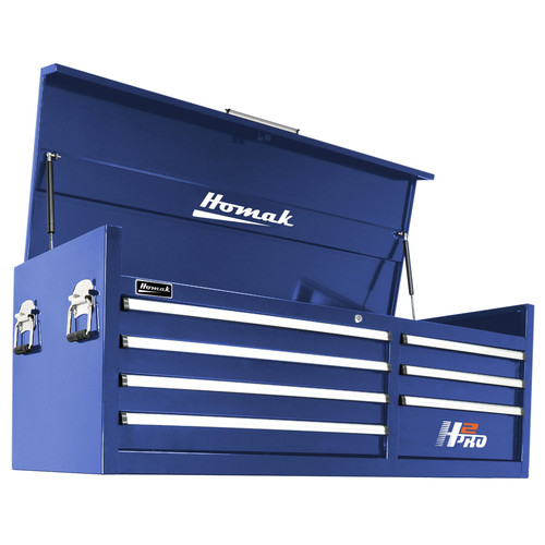 Homak BL02056071 56 in. H2Pro Series 7 Drw Top Chest (Blue)