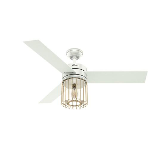 Hunter 59238 52 in. Ronan White Ceiling Fan