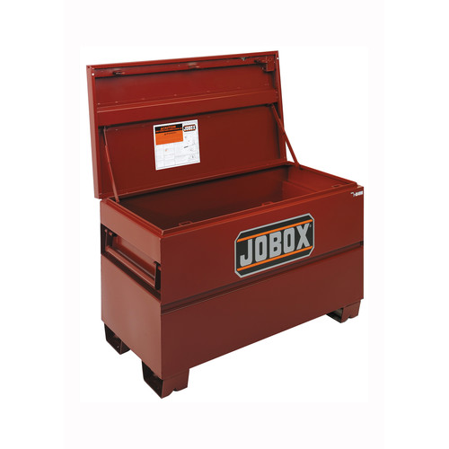 JOBOX 1-656990 48 in. Long Taller & Wider Heavy-Duty Steel Chest with Site-Vault Security System