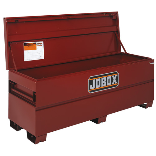 JOBOX 1-658990 72 in. Long Heavy-Duty Steel Chest with Site-Vault Security System