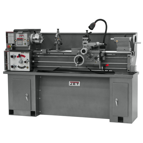JET BDB-1340A Belt Drive Bench Metal Lathe with Taper Attachment