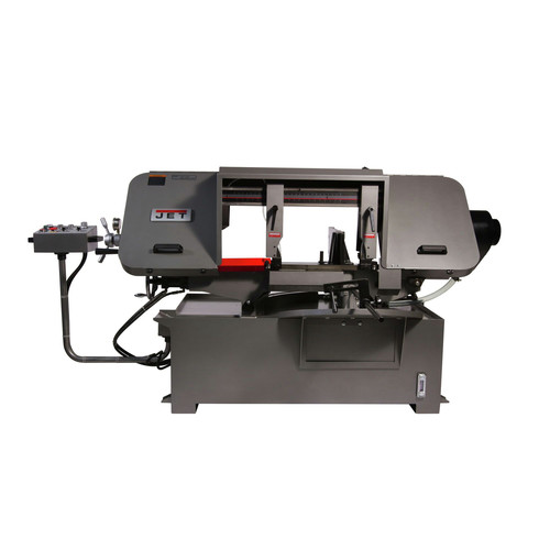 JET 424475 HBS-1220MSAH 12 in. x 20 in. Semi-Automatic Mitering Variable Speed Bandsaw with Hydraulic Vise