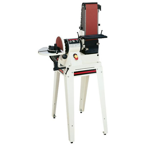 JET JSG-960S 6 in. x 48 in. Belt / 9 in. Disc Combination Sander with Open Stand