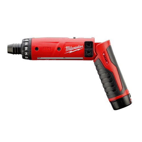 Milwaukee 2101-21 M4 Lithium-Ion 1/4 in. Hex Screwdriver with 2.0 Ah REDLITHIUM Battery