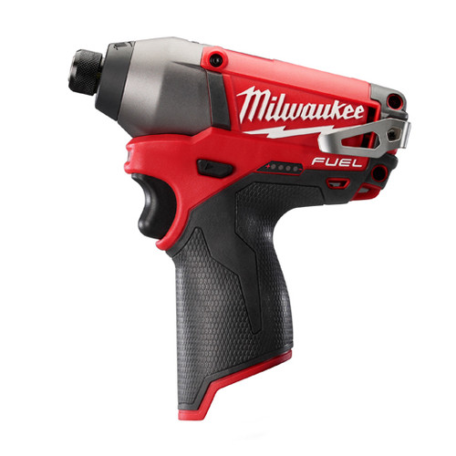 Milwaukee 2453-20 M12 FUEL Cordless Lithium-Ion 1/4 in. Hex Impact Driver (Bare Tool)