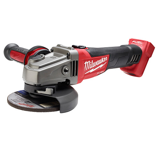 Milwaukee 2781-20 M18 FUEL Lithium-Ion 4-1/2 in. - 5 in. Slide Switch Grinder with Lock-On (Bare Tool)