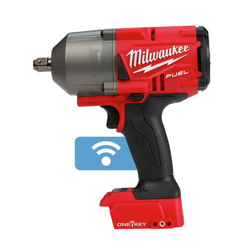 Milwaukee 2863-20 M18 FUEL with ONEKEY High Torque Impact Wrench 1/2 in. Friction Ring (Bare Tool)