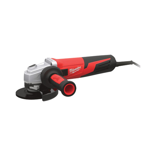 Milwaukee 6117-33 5 in. 13 Amp Slide Switch Small Angle Grinder with Lock-On Button