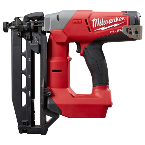 Factory Reconditioned Milwaukee 2741-80 M18 FUEL Cordless Lithium-Ion 16-Gauge Brushless Straight Finish Nailer (Bare Tool)