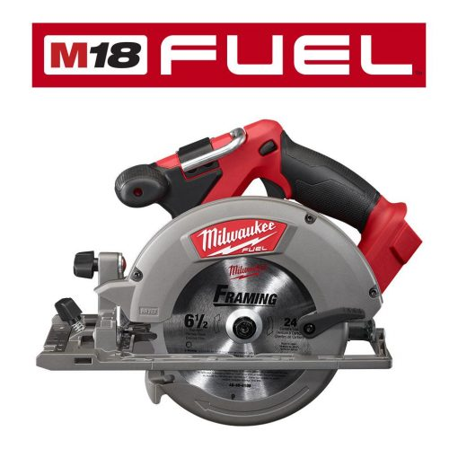 Milwaukee M18 FUEL 18-Volt Lithium-Ion Brushless Cordless 6-1/2 in. Circular Saw (Tool-Only)