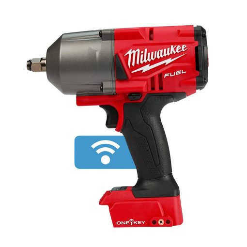 Milwaukee M18 FUEL ONE-KEY 18-Volt Lithium-Ion Brushless Cordless 1/2 in. Impact Wrench w/Friction Ring (Tool-Only)