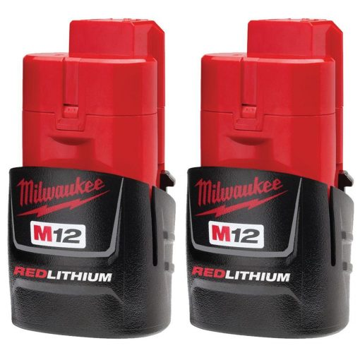 Milwaukee M12 12-Volt Lithium-Ion Compact Battery Pack 1.5Ah (2-Pack)