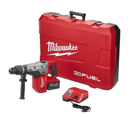Milwaukee M18 FUEL 18-Volt Lithium-Ion Brushless Cordless 1 9/16 in. SDS-Max Rotary Hammer Kit W/ (1) 9.0Ah Battery, Hard Case
