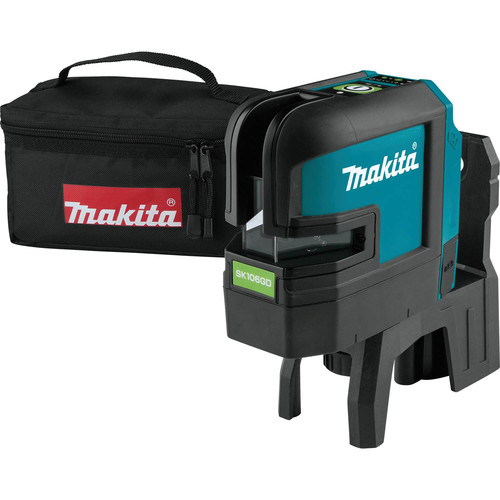 Makita SK106GDZ 12V MAX CXT Lithium-Ion Cordless Self-Leveling Cross-Line/4-Point Green Beam Laser (Bare Tool)