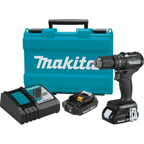 Makita XPH11RB 18V LXT 2.0 Ah Lithium-Ion Sub-Compact Brushless Cordless 1/2 in. Hammer Driver-Drill Kit