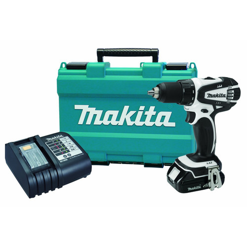 Factory Reconditioned Makita XFD01WSP-R 18V LXT Cordless Lithium-Ion 1/2 in. Compact Drill Driver Kit