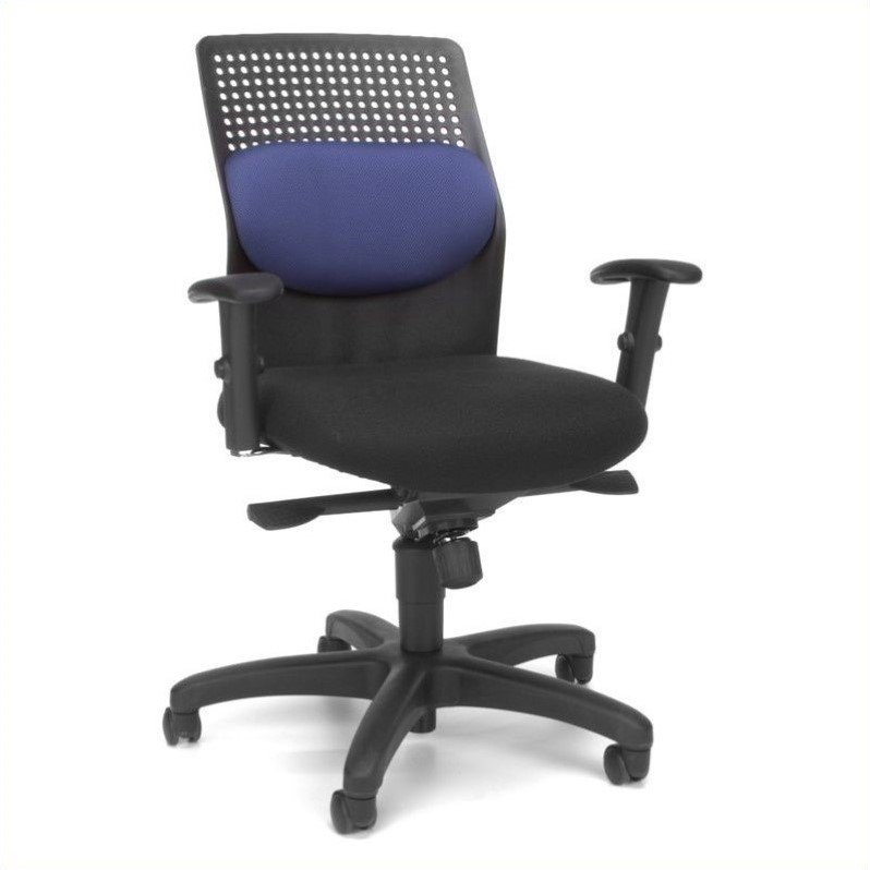 OFM AirFlo Series Executive Task Chair in Blue - OFM 650-M10