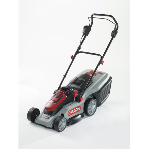 Oregon 591081 40V MAX LM300 Lawnmower Kit with 6.0 Ah Battery Pack and Rapid Charger