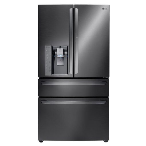 LG Electronics 29.7 cu. ft. French Door Refrigerator with Door-in-Door in Black Stainless Steel