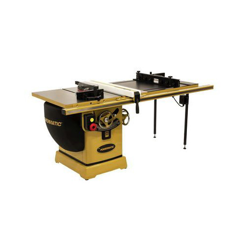 Powermatic PM25150RK 2000B Table Saw - 5HP/1PH/230V 50 in. RIP with Accu-Fence and Router Lift