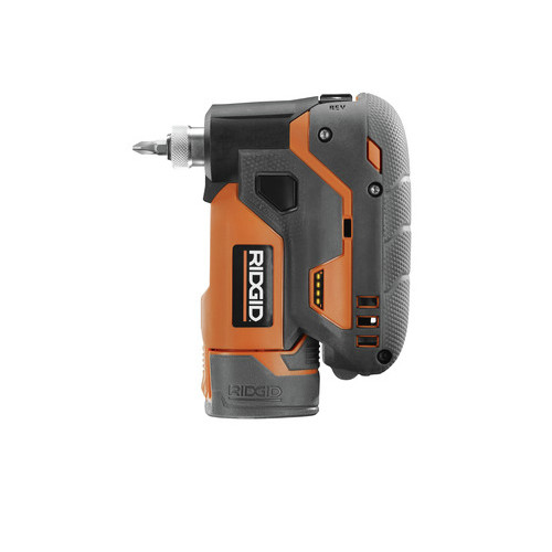 Factory Reconditioned Ridgid ZRR8224K Ridgid 12V Lithium-Ion 1/4 in. Cordless Palm Impact Screwdriver Kit