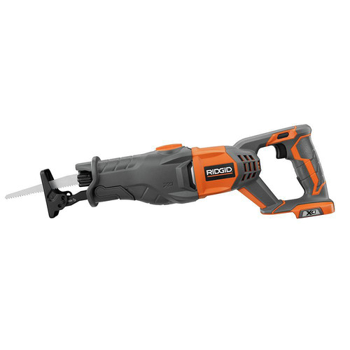 Factory Reconditioned Ridgid ZRR8641B X4 18V Compact Lithium-Ion Reciprocating Saw (Bare Tool)
