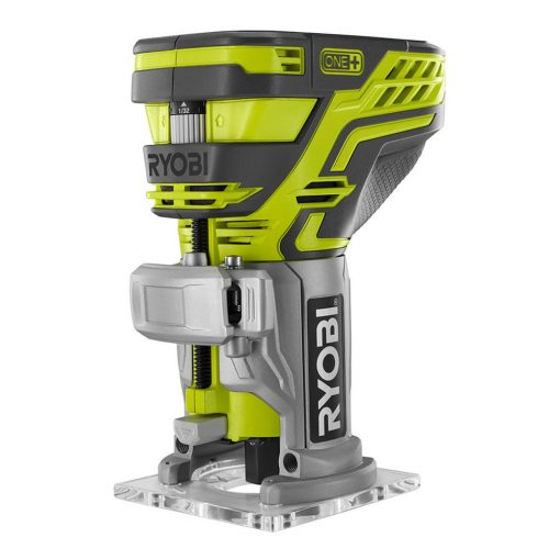 Ryobi 18-Volt ONE+ Cordless Fixed Base Trim Router (Tool Only) with Tool Free Depth Adjustment
