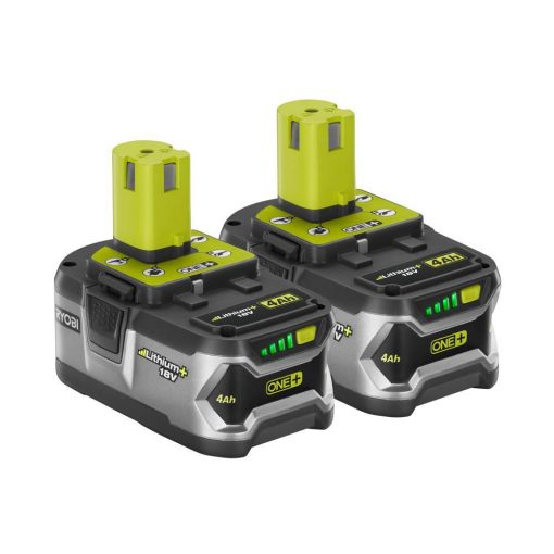 Ryobi 18-Volt ONE+ Lithium-Ion High Capacity LITHIUM+ 4.0 Ah Battery 2-Pack