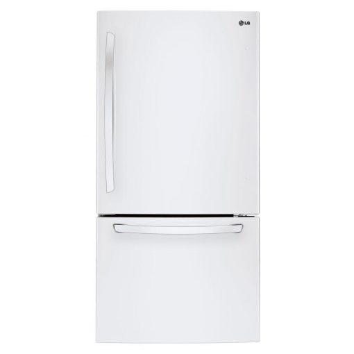 LG Electronics 24 cu. ft. Bottom Freezer Refrigerator in Smooth White
