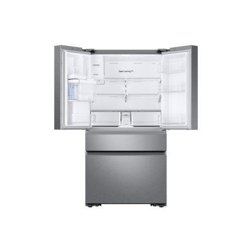 Samsung 22.6 cu. ft. 4-Door French Door Refrigerator with Recessed Handle in Stainless Steel, Counter Depth