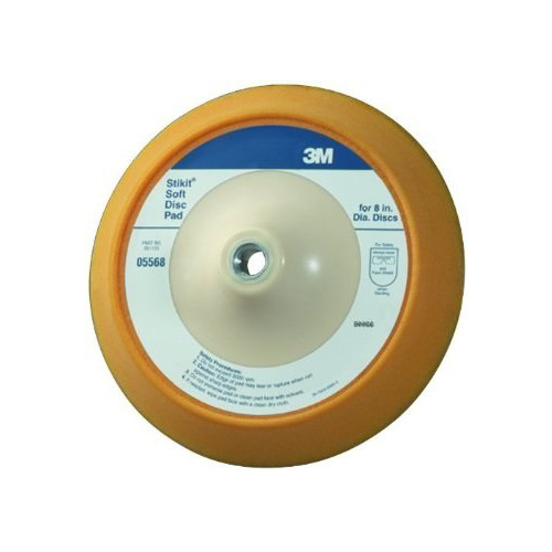 3M 5568 Stikit Soft Disc Pad 8 in.