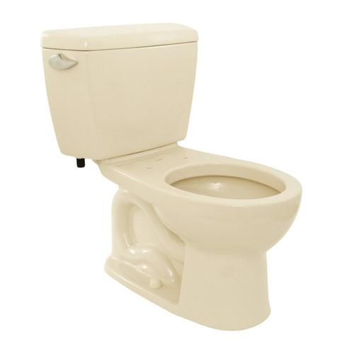 TOTO CST743E#03 Eco Drake Round 2-Piece Floor Mount Toilet (Bone)